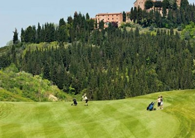 Golfing in Tuscany