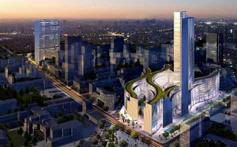 Neues Stadtzentrum für Mailand: Porta Nuova